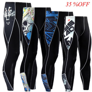 Elastic Bodybuilding Trousers