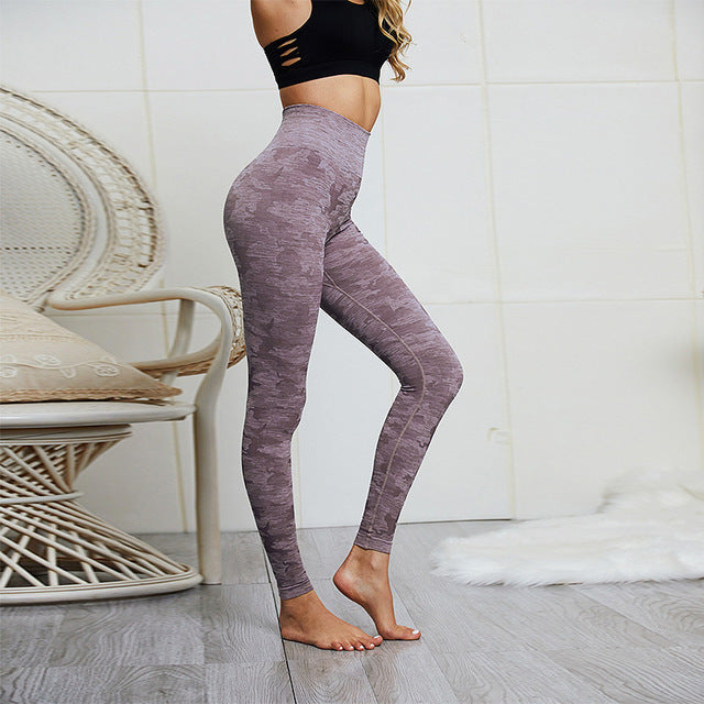 Gym Camo Seamless Leggings