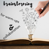 Brainstorm:  Eliciting prior knowledge + Collaboration