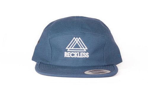 5 Panel Navy Reckless x Flexfit Yupoong