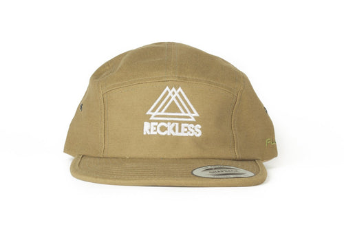 5 Panel Olive Reckless x Flexfit Yupoong