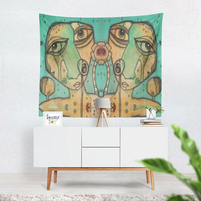 Wall Art Tapestry 'Wishful Thinking II'