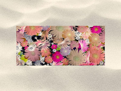 Bath Towel 'CFloral 1'