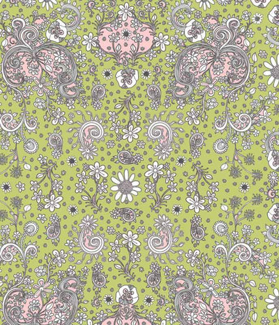 green-floral-duvet-cover