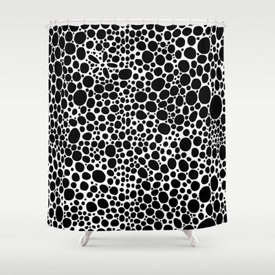 SHOWERCURTAIN-BLK&WTEINVERTED-BUBBLES