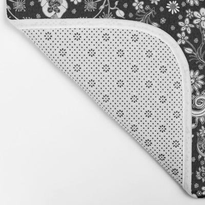 black-white-hand-drawn-floral-bath-mats (2)