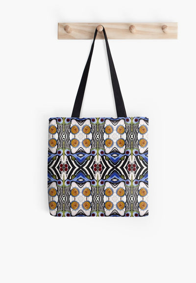 tribal sun tote bag b