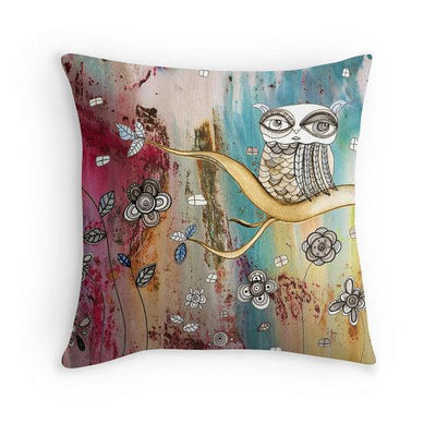 throw-pillow-surreal-owl-i