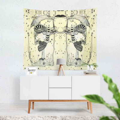 wall art tapestry 'ink blot 11''