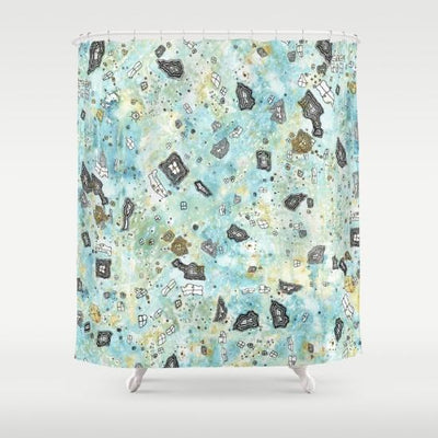 Surreal Sky Shower Curtain