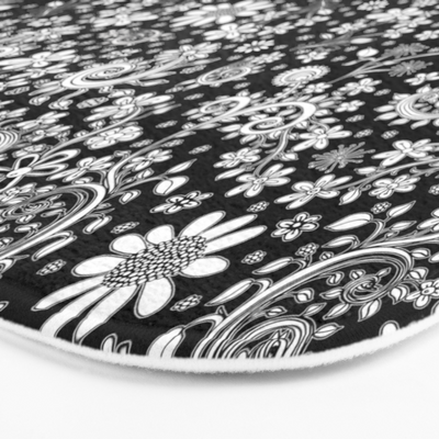 black-white-hand-drawn-floral-bath-mats (3)