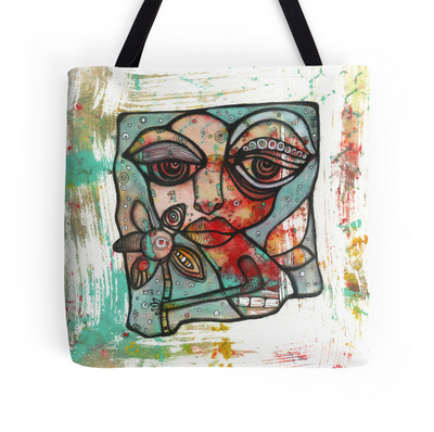 """Mine"" tote bag beach bag"
