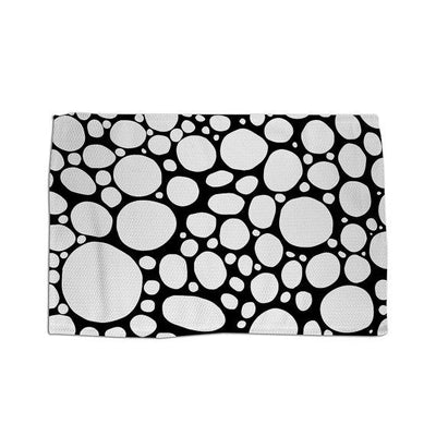 Area Rug 'BW Bubbles'