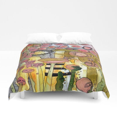 Duvet Cover 'Bugged Out'