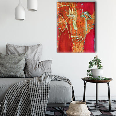 Art Print on Canvas 'Broken Dreams'