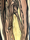 "Original Abstract Fine Art ""The angel and her golden door"""