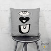 'EYE LOVE YOU' Throw Pillow