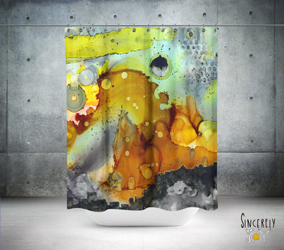 Colorful Abstract Shower Curtain 'in the abstract'
