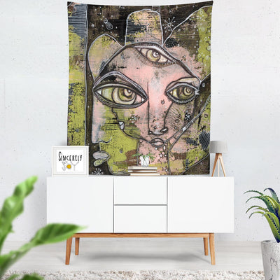 Wall Art Tapestry 'What We See'
