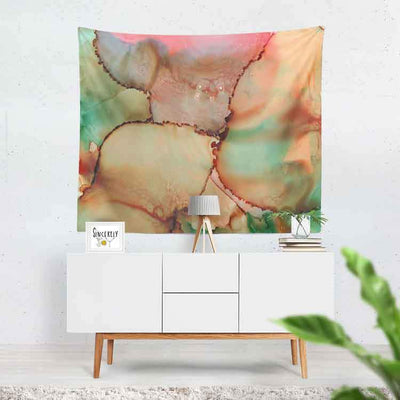 Wall Art Tapestry 'Abstract Kiss'