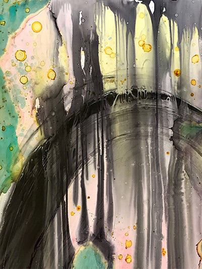 Original Mixed Media Fine Art 'The Tunnel'