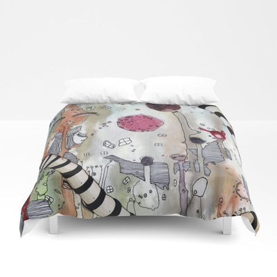 Duvet Cover 'A Female Hello'