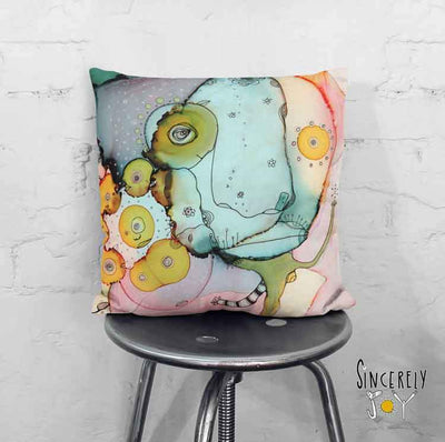 Art Throw Pillow 'Dance With Me I'