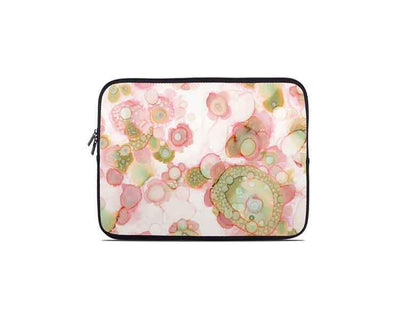 'Organic in Pink' Laptop/Tablet Sleeve