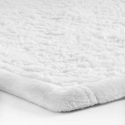 'Black and White Bubbles' Modern Fleece Blanket