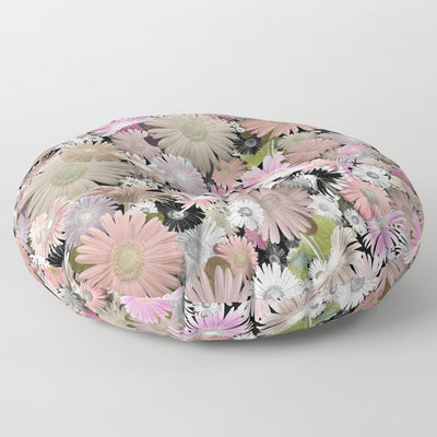 'C Floral' Floor / Meditation Cushion
