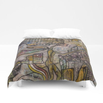 Duvet Cover 'City Creatures'