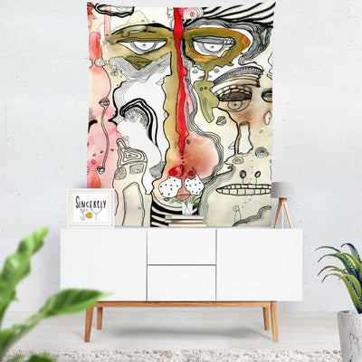 Wall Art Tapestry 'Complicated'