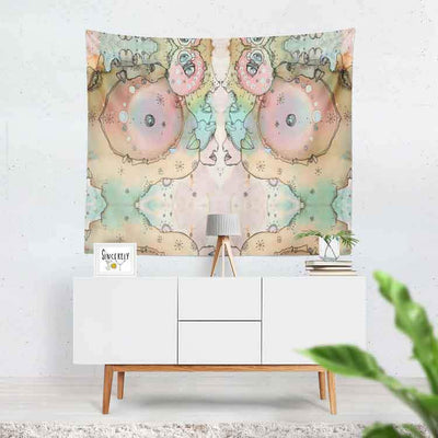 Wall Art Tapestry 'Turn Around 2'