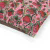Washable Fleece Pet Bed for your dog or cat with colorful 'Strawberry Friends' Artwork