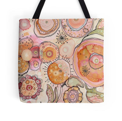 Tote bag art 'Looking in'