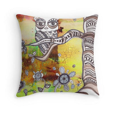 throw-pillow-surreal-owl
