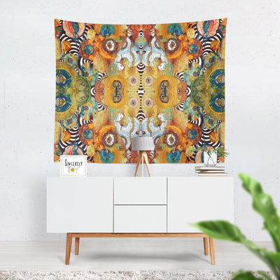 Wall Art Tapestry 'Energy Abstract'