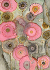 Original Mixed Media Fine Art 'In the Pink'