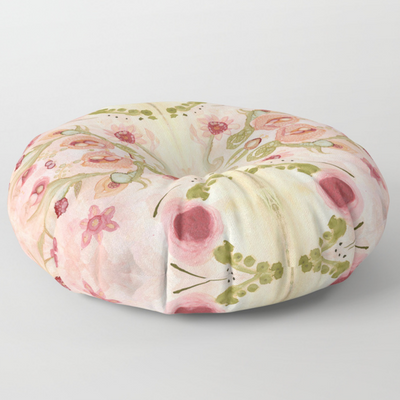 Floor / Meditation Cushion 'Kali Floral'