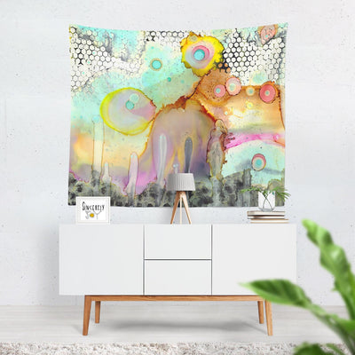 Wall Art Tapestry 'Look at Me'
