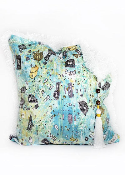 'Surreal Sky' shag / art pillow