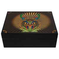 """Colors of Mayab"" Special Edition Hand Crafted Yucatán 125 Cigar Spanish Cedar Humidor from Park Lane (Colores del Mayab)"
