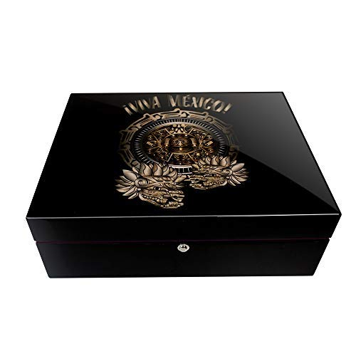 main image of Viva Mexico! 125 Cigar Humidor from Park Lane