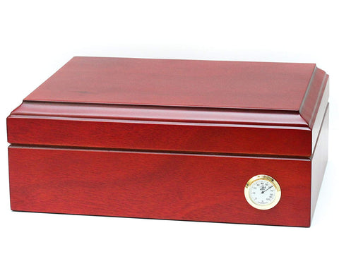 80 Cigar Authentic Spanish Cedar Humidor from BCIC, Made in North America