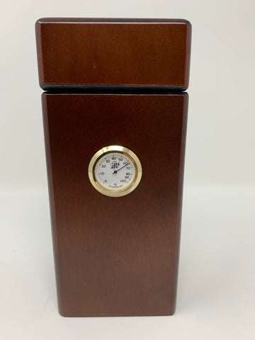 Cigar City Humidors Special Edition 16 Cigar Authentic Vertical Design (Spanish Cedar with Walnut Finish)