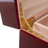 """Viva La Serpiente"" Special Edition Hand Crafted 125 Cigar Spanish Cedar Humidor from Park Lane"