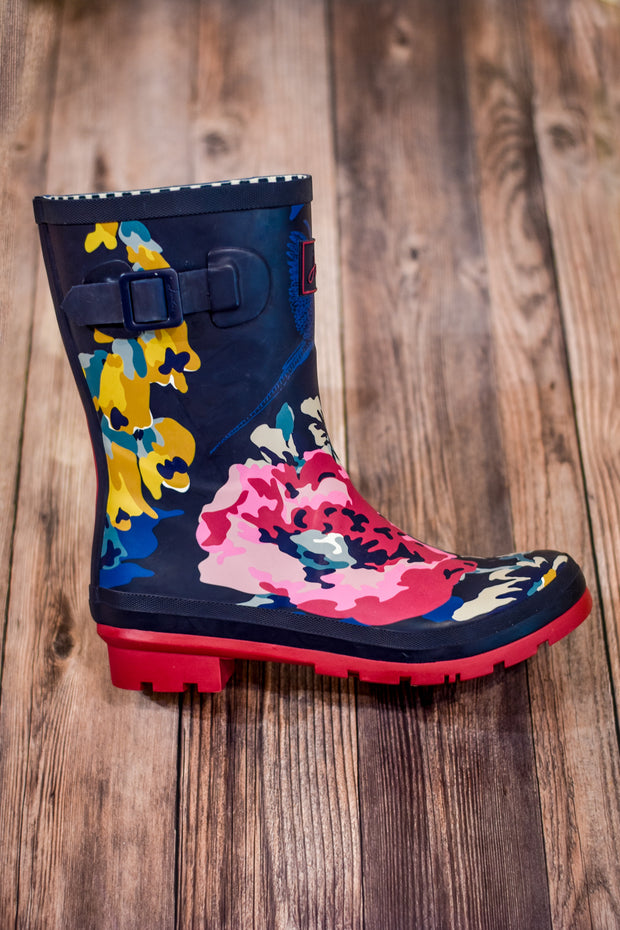 Molly Welly Floral Rain Boots