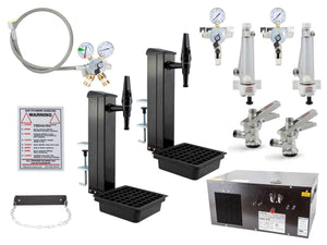 2X Universal Tap Bracket Fonts Keg Beer/Cider Dispense Starter Kit