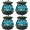 Stinger Mosquito Repellent Lantern, Black/Blue (4-Pack)