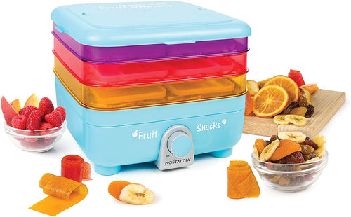 Nostalgia Organic Leather and Fruit Chip Snack Maker